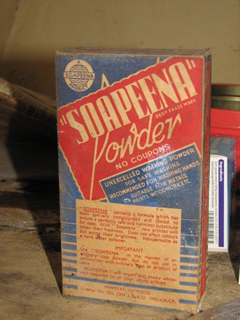 ...including the wonderful Soapeena box!
